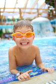 Activities on the pool — Stock Photo