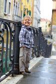 венецианский мнение и мальчик — Стоковое фото