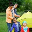 Family camping — Stock Photo #26346473