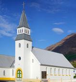 Church on iceland — Stock Photo