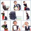 Schoolchild — Stock Photo