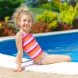 Girl in pool — Foto Stock #27030529