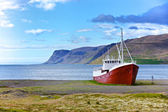 Velho navio de pesca — Foto Stock