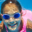 Stock Photo: Underwater girl