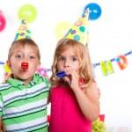 Kids at birthday party — Stock Photo #31169393