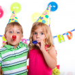Kids at birthday party — Stock Photo #31169393