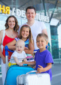 Family going on a trip — Stock Photo
