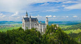 Famous neuschwanstein castle. — Stock Photo