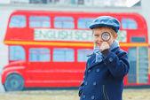 Little detective — Stock Photo