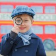 Little detective — Stock Photo #34410739