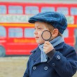 Little detective — Stock Photo