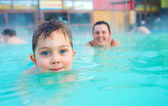 Zajęcia na basenie — Zdjęcie stockowe