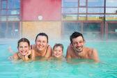 Havuz aktiviteleri — Stok fotoğraf