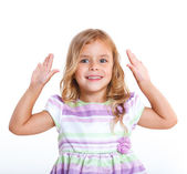 Portrait little girl — Stock Photo