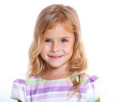 Portrait little girl — Stock Photo