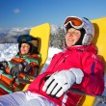Winter, ski, sun and fun. — Stock Photo #37311729