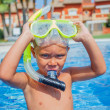 Activities on pool — Stock Photo #37548133