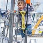 Boy in Yacht Club — Stock Photo #37638087