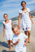 Cute kids on the beach — Stock Photo