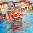 Activities on pool — Stock Photo #38170259