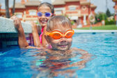 Activities on the pool — Stock Photo