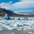 Stock Photo: Glacier lagoon in east iceland
