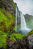 Icelandic waterfall — Stock Photo