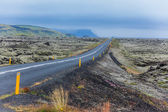 Road in iceland. — Stock Photo