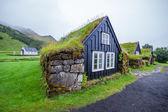伝統的なアイスランドの家 — ストック写真