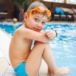 Activities on pool — Stock Photo #38315761