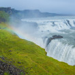Gulfoss - golden falls. Icaland — Stock Photo #38315787