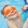 Activities on pool — Stock Photo #38315789