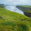 Stock Photo: Gulfoss - golden falls. Icaland