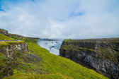 Gulfoss golden falls ... — Stock Photo