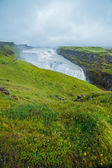 Gulfoss - golden falls. Icaland — Stock Photo