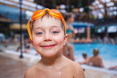 Activities on the pool — Stockfoto
