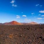 Mountains of fire Timanfaya — Stock Photo