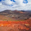 Mountains of fire Timanfaya — Stock Photo