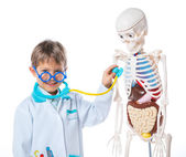 Little doctor. — Stock Photo