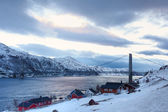 Norway in winter — Stock Photo
