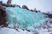 Cascada congelada — Foto de Stock