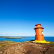 Lighthouse in iceland — Stock Photo #41497859