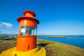 Lighthouse in iceland — 图库照片