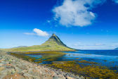 Icelandic Kirkjufell mountain — Stock Photo