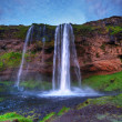 Seljalandfoss waterfall. — Stock Photo