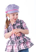 Lovely little girl — Stock Photo