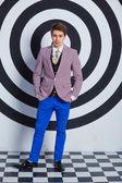 Fashion young handsome man. — Foto de Stock