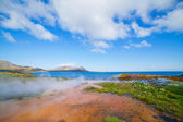Hot geothermal spring. — Stockfoto