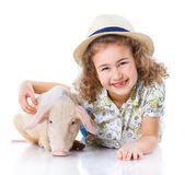 Little farmer — Stock Photo