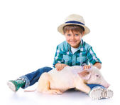 Little farmer — Stock Photo